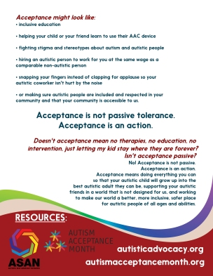 Why Acceptance?